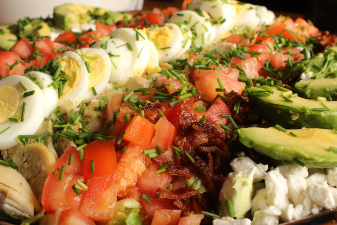American Cobb Salad close up