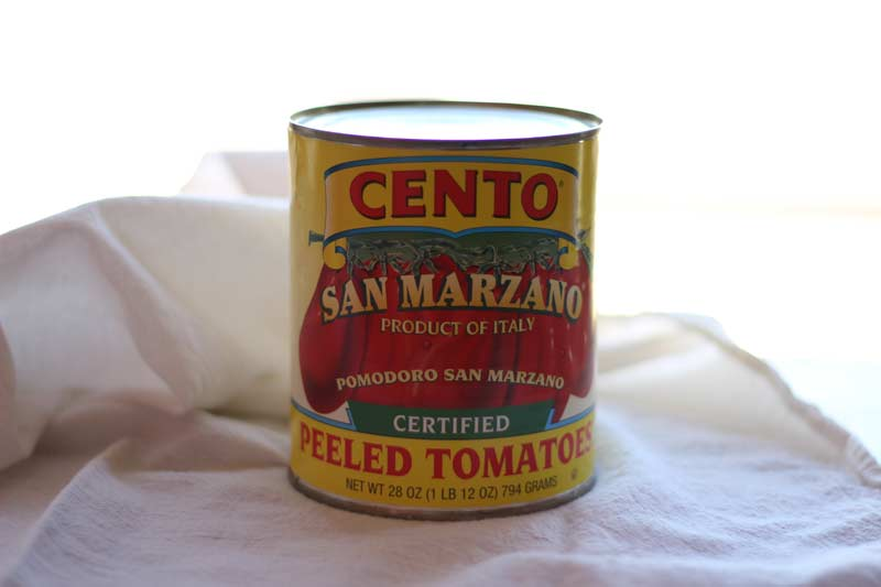 San Marzano Tomatoes Canned