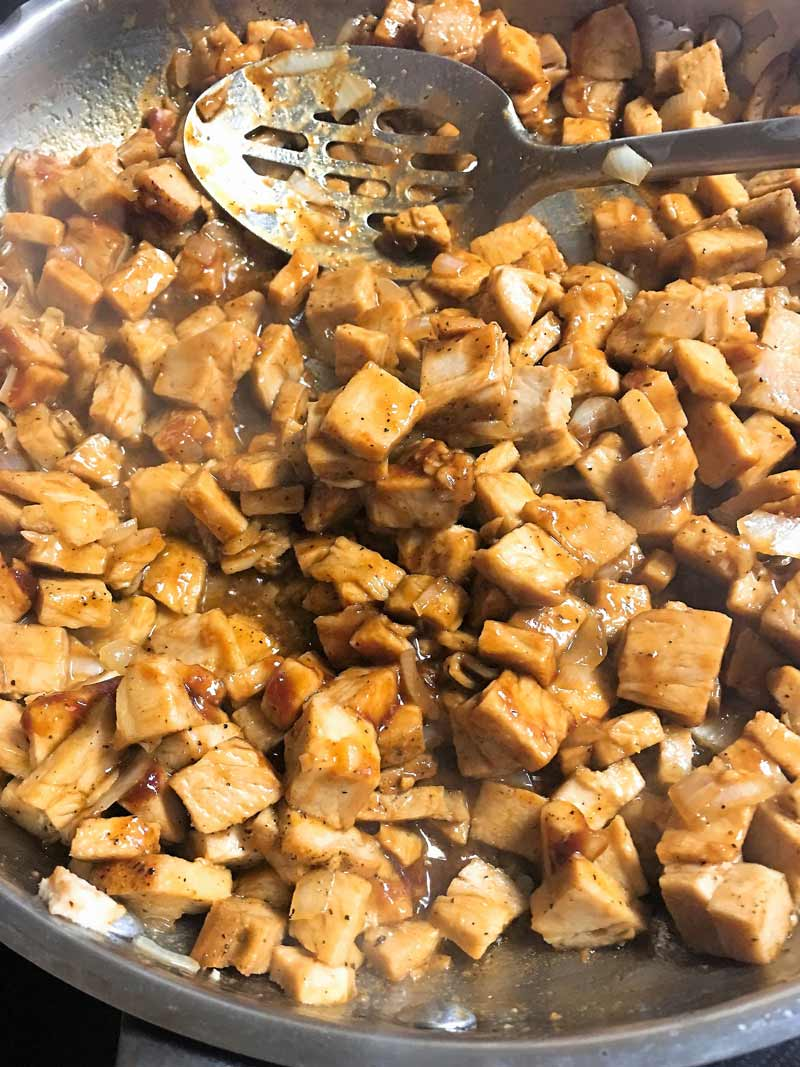 Leftover pork tenderloin transformed into bahn mi sandwiches hoisin mirin onion bolillo rolls shaved cucumber quick pickle daikon radish carrot cilantro jalapeno sriracha mayo