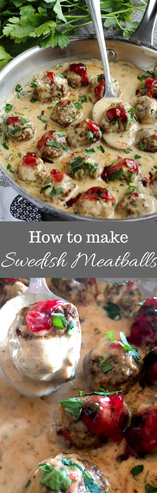 Swedish Meatballs Lunch Dinner Ground Beef Tarragon Onion Allspice Garlic Parsley Gravy